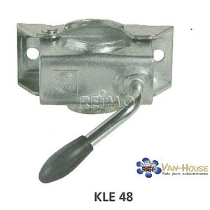 Abrazadera para el remolque de enganche de 48 mm Ø