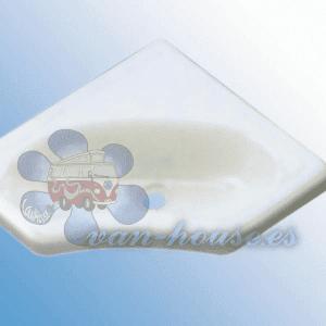 Lavabo de Esquina Mini (345x345x116mm) Blanco