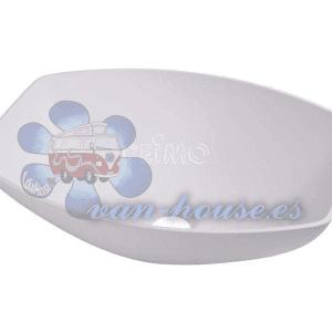 Lavabo Semi-Ovalado Blanco (350x260x135 mm)