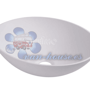 Lavabo Ovalado Blanco (350x256x135 mm)
