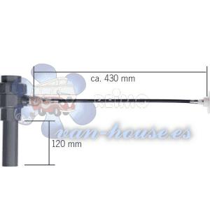 Válvula de Vaciado para Depósitos de Agua (EXTERIOR)