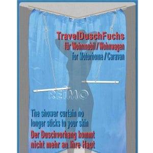 Soporte para Cortinas de Ducha TravelDusch-Fuchs