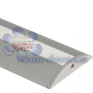 Perfil LED Aluminio Semicircular 1.5m