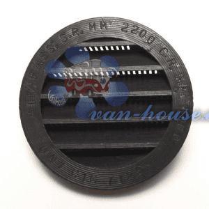 Rejilla de Ventilación Redonda Ø 100 mm (Elegir Color)