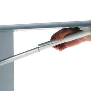 Consola plegable de aluminio 252 mm