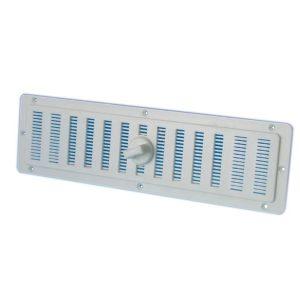 Rejillla de ventilacion de plástico