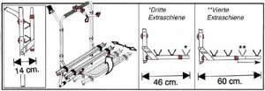 Portabicicletas para Mercedes Vito (2/4 BICIS)