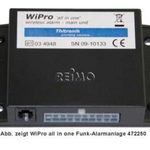 Alarma de radio WiPro 'todo en uno'