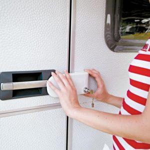 Cerradura de seguridad para la puerta de entrada de la autocaravana y de la caravana