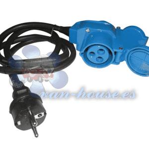 Cable Adaptador Schuko – Enchufe 3×2.5 (1.5m Largo)