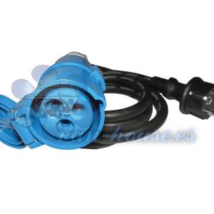 Cable Adaptador CEE 3×2.5mm (1.5m Largo)