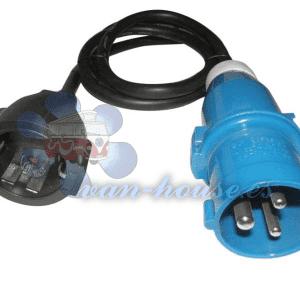 Cable adaptador CEE 3×2.5mm (1.5m de Largo)
