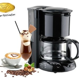 Cafetera 12V / 150W 600ml negro 6 tazas