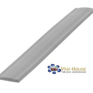 Cubierta para perfil plata rollo de 10 m