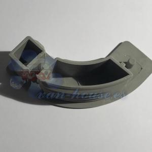 Tapa para Perfil Aluminio – Gris Medio (Elegir Derecha/Izquierda)