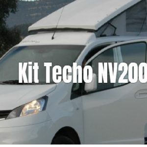 Kit de techo elevable con cama para NV200