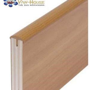 Canto T- para cubrir los bordes cortados de tablas de muebles