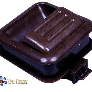 Tirador para  muebles Reimo marrón