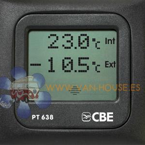 Termometro Ext-Int CBE PT638