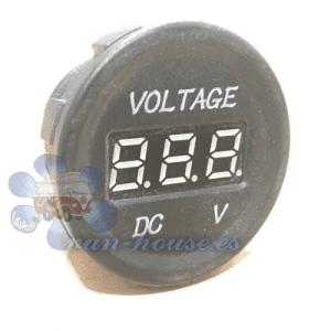 Panel Voltímetro 10-30V