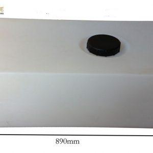 Depósito de agua de 126 litros  blanco