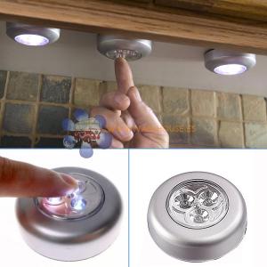 Lampara Autoadhesiva 3 LEDS Touch
