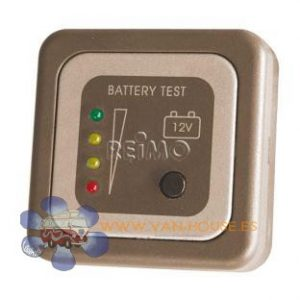 Panel Indicador de Bateria 12V