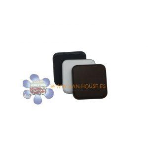 Pulsador Interruptor Blanco/Gris Oscuro