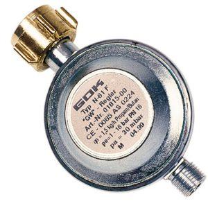 Reductor de Presión sin Manómetro, 30 mbar