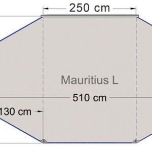 Toldo Solar Mauricio 5.1x3m