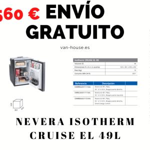 (Envío Gratis) Nevera Isotherm CRUISE EL 49