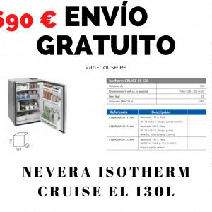 (Envío Gratis) Nevera Isotherm CRUISE EL 130