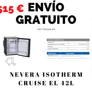 (Envío Gratis) Nevera Isotherm CRUISE EL 42