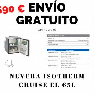 (Envío Gratis) Nevera Isotherm CRUISE EL 65
