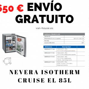 (Envío Gratis) Nevera Isotherm CRUISE EL 85