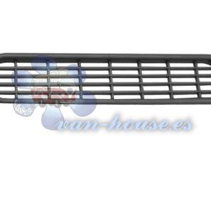 Rejilla de Ventilación Ovalada 205×40 Color plata