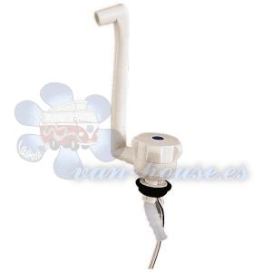Grifo Básico Automático NOVO – Color Blanco y Cromo (Elegir)