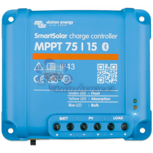 Regulador MPPT 75V 15A (Bluetooth) Victron Smart Solar