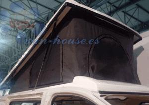 Instalación Techo Cama Elevable (Apertura Delantera)