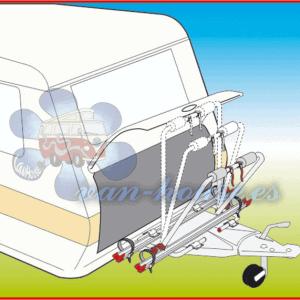 Soporte de Barra de Tiro XL A – máx. 35 kg – Para 2 bicicletas