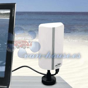 Antena CARBEST DVB-T – Interior / Exterior (Buen Rendimiento)