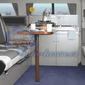 Sistema de Mesa VWT5  y Cityvan