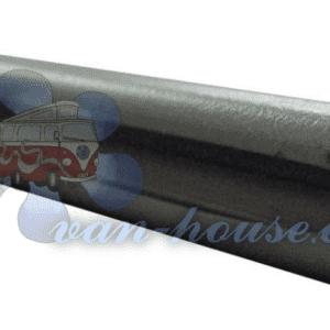 Riel de Cortina 2.60m Aluminio Anodizado