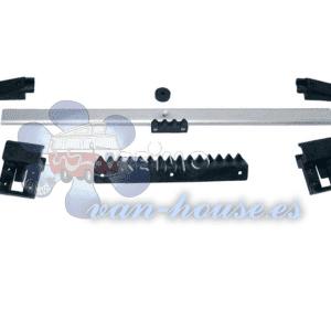 Carril Deslizante de Mesa Stilo Plata – 950 mm