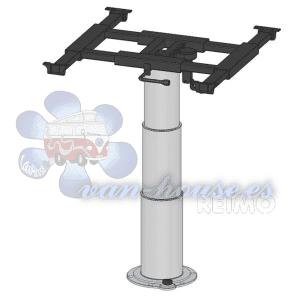 Mesa Elevadora de Columna Simple (355-730 mm, altura 355 mm, carrera 375 mm)