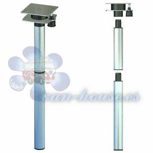 Base de Mesa Extensible 756 mm – 3 partes – Aluminio