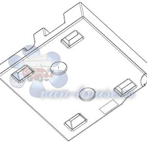 Depósito de Aguas Residuales 90L para Ducato / Boxer / Jumper desde 2006
