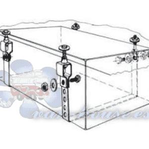 Kit / Conjunto de Fijación Montaje para Depósitos de Agua (Cincha)
