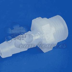 Conector de Transición Rosca Externa de 1/2 ' (Para Manguera de 10 mm) 2 piezas