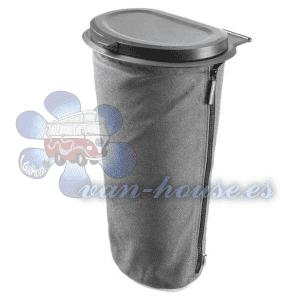 Bote de Basura Flextrash – 5L Color Gris (Material Biodegradable)